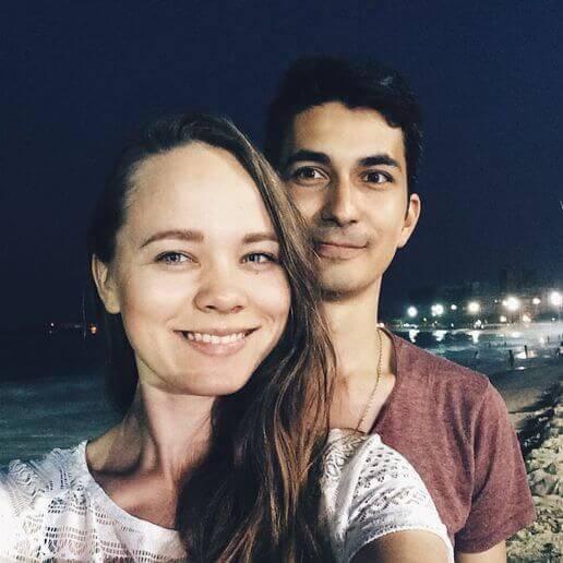Нонна Старущенко і Гліб Капоріков